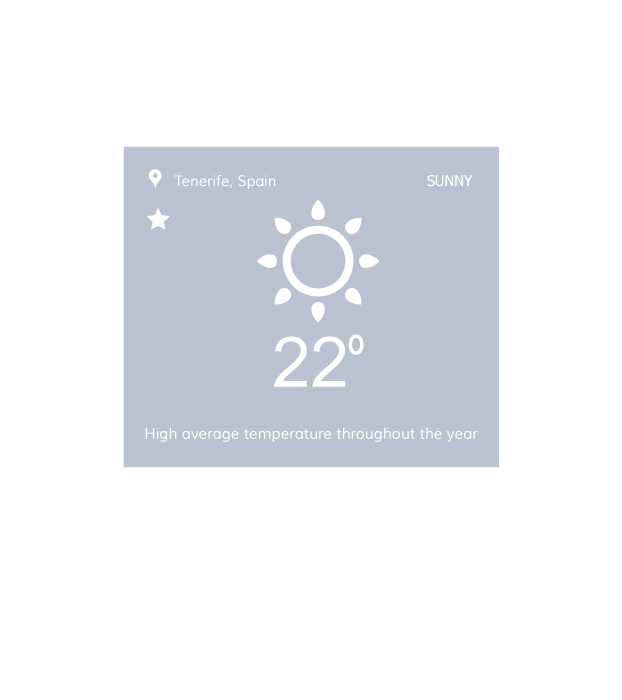 average temperature in Tenerife canary islands