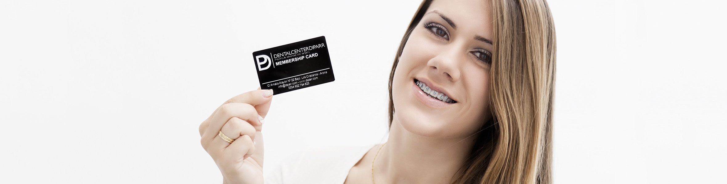 tarjeta de fidelización en dental center diparr